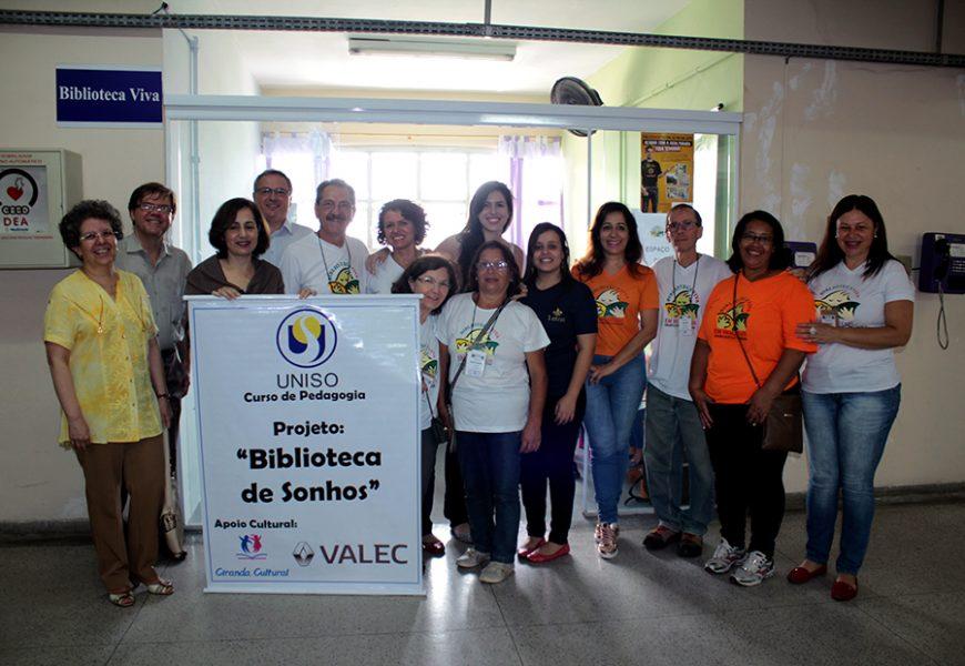 Biblioteca de Sonhos no Hospital Regional de Sorocaba