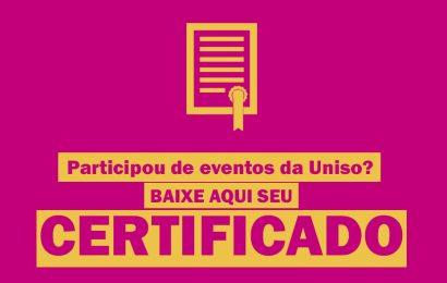 Baixe aqui seu certificado