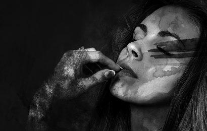 Dos cinzas à aquarela